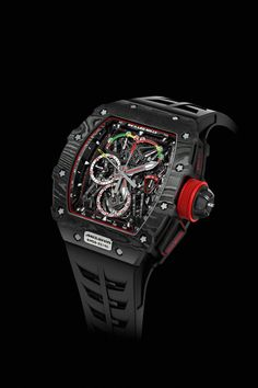 Forget TAG-Heuer: this latest Richard Mille wristwatch is lighter than a tennis ball and more exclusive and expensive than anything McLaren makes.