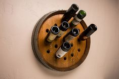 Napa Valley Wine Barrel Wine Rack - 19 Bottle