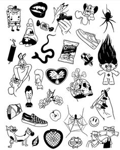 new sketches every d Tattoo Design Drawings, Tattoo Sketches, Art Sketches, Art Drawings, Tattoo Designs, Kritzelei Tattoo, Doodle Tattoo, Tattoo Flash Art, Tattoo Outline