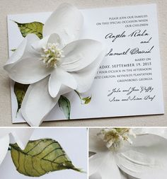 sculpted-flower-wedding-invite
