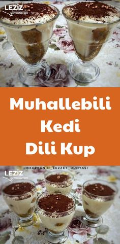 Muhallebili Kedi Dili Kup – Sandviç tarifi – Las recetas más prácticas y fáciles Turkish Kitchen, Pudding, Cool Pets, Sweet And Salty, Custard, Ham, Milkshakes, Food And Drink, Yummy Food