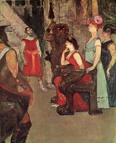 Messalina Seated by Henri de Toulouse-Lautrec Henri De Toulouse Lautrec, Renoir, Georges Seurat, Art Nouveau, Monet, Free Art Prints, Painting Gallery, Paul Gauguin, French Art