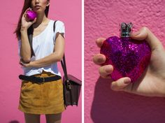 Vera Wang - Pink Princess #VeraWang #2013 #perfume #Ykone #pink #princess #VWPinkPrincess #glitter #NeonBlush