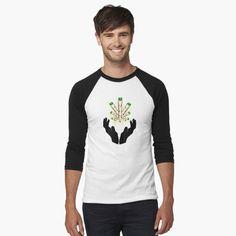 T-shirt 'Conception d'ours panda mignon' par Camouflage, T Shirt Baseball, Manga Raglan, Athletic Looks, Vintage T-shirts, My T Shirt, Pulls, Chiffon Tops, Shirt Style