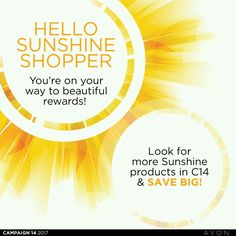 Shop the 🌞 Hello Sunshine Deals to Qualify for Some Great Bundles later. Avon Products, Hello Sunshine, Whats New, How To Know, Campaign, Shop, Store