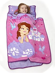 Slumber Bags - Disney Toddler Rolled Nap Mat Princess Sofia >>> See this great product.