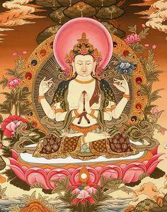 Mantra Of Avalokiteshvara | Kuan Yin, or Avalokiteshvara /Chenrezig 观世音菩萨