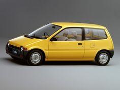 Honda Today M (JA1) '09.1985–88 Classic Japanese Cars, New Luxury Cars, Japanese Domestic Market, Honda City, H Design, Small Cars, Motor Car, Concept Cars, Cars And Motorcycles