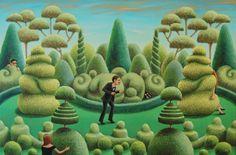 'Hide & Seek' by Antoinette Kelly 2013. www.saatchiart.com/A.Kelly