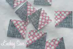 Half Square Triangles (HSTs): 8 at a Time! | Sew Mama Sew |
