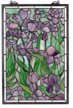 Stainglass Iris art-ideas