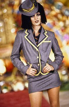 John Galliano Fall 1997 Ready-to-Wear Fashion Show - Kate Moss