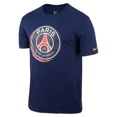 With a squad that has Zlatan Ibrahimovic, PSG will always be fun to watch. Get the Nike Paris St. Germain Crest T-Shirt (Midnight Navy) and cheer them on all year long.  http://www.soccercorner.com/Nike-Paris-St-Germain-Crest-T-Shirt-p/tt-ni689666-410.htm