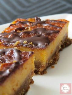 Tarta de queso de Calabaza - Disfrutando sin Gluten Detox Diet Drinks, Cheesecake Pie, Sweet Cakes, Cheesecakes, Tapas, Deserts, Food And Drink, Pumpkin, Yummy Food