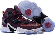 size 40 72592 4d00c Find 2016 Nike Mens Basketball Sneakers Lebron 13 XIII Purple Red Orange  White Black 388679 online or in Lebronshoes. Shop Top Brands and the latest  styles ...