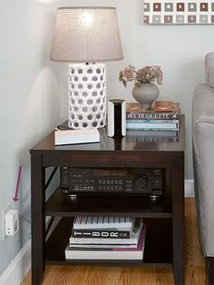 Lutron's Caséta Wireless Plug-In Lamp Dimmer (about $60) lets you control two lamps from the included remote or, if connected to Lutron's Smart Bridge (about $120), from your phone.