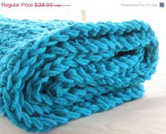 Love Aqua And Brown by Barbra and Meredith on Etsy