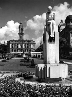 Avenida dos Aliados em 1929 www.webook.pt #webookporto #porto #vintage