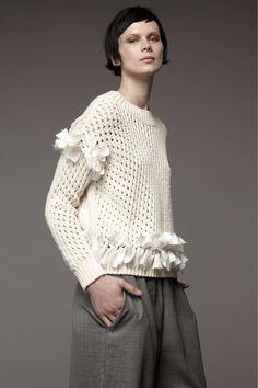 Patmos Resort 2017 Fashion Show Fashion 2017, Runway Fashion, Fashion Show, Fashion Trends, Knitwear Fashion, Crochet Fashion, Fashion Details, Fashion Design, Summer Knitting