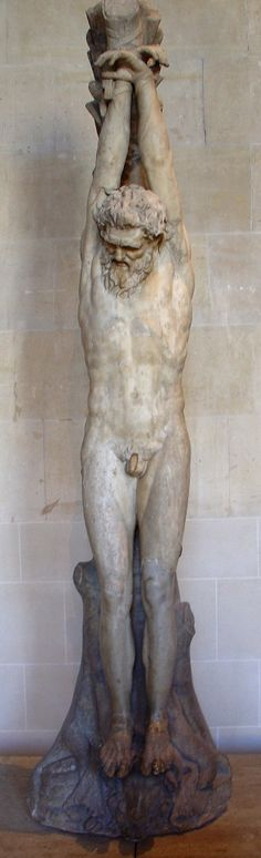 The Torment of Marsyas. Roman copy of the 1st-2nd century after a Hellenistic original. Found in Rome, Italy. (Le Supplice de Marsyas) | Musée du Louvre