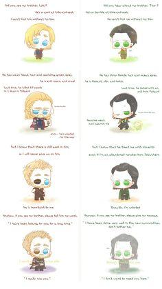 Hide & Seek || Thor & Loki || Thor trilogy / Avengers Infinity War || Cr: Alexa