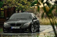 BMW E60 M5 black rain