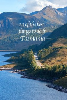 20 of the Best Things to do in Tasmania Anthony Road skirting the sublime Lake Plimsoll in rugged western Tasmania Tasmania Road Trip, Tasmania Travel, Travel Oz, Travel Stuff, Slow Travel, Travel Around The World, Around The Worlds, Australia Travel Guide, Travel Guides
