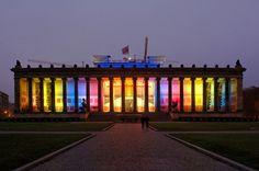 ***Altes Museum, Berlín*** Karl Friedrich Schinkel.