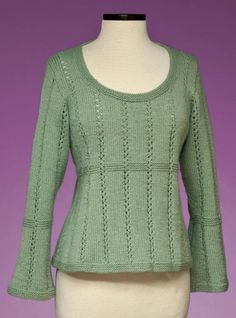Looking for your next project? You're going to love Top-Down Empire Waist Pullover #172 by designer suemccain.