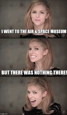 I went to the #air & #space #museum but there was nothing there #LetsGetWordy