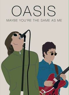 cartoon band poster at DuckDuckGo Rock Posters, Band Posters, Concert Posters, Music Posters, Oasis Lyrics, Oasis Music, Pop Rock, Rock And Roll, Oasis Album