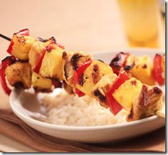 CHEAP Skewered Chicken, Pineapple, & Red Bell Peppers! - Save at Home Mommy- Extreme Couponing & Frugal Living