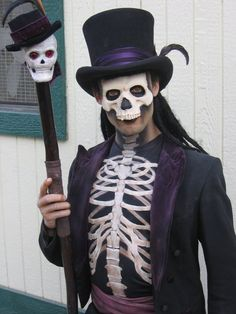 Baron Samedi costume and make-up, which I found particularly inspired.