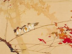 Resize your animated GIF in just 3 clicks. Japan Painting, Ink Painting, Korean Art, Asian Art, Chinese Painting, Chinese Art, Watercolor Landscape, Watercolor Paintings, Watercolours