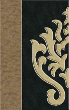RugStudio presents Rugstudio Riley DL10 Stone-Black-Putty Machine Woven, Best Quality Area Rug