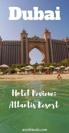 A full review of this impressive hotel in Dubai. Atlantis - The Palm Dubai Resort. Emirates, luxury. #luxurydubai