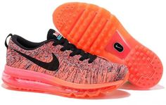Women Nike Flyknit Air Max Ultra Stamping Red Mango Yellow Super Emerald Green Black