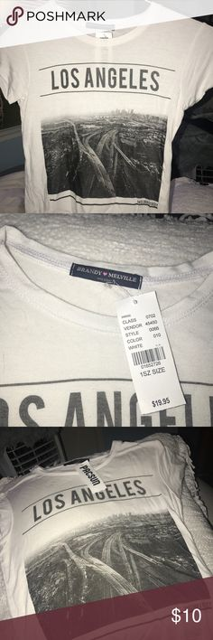 Crop top Never worn! Pacsun crop top. (It says 1 size, but I would say it's a small) Brandy Melville Tops Crop Tops