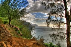 Kalalau Trail, Kauai, Hawii