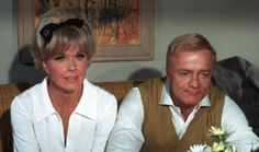 "Doris Day and Brian Keith in ""With Six, You Get Eggsroll"", 1968"