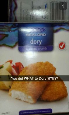 This Snapchat, which will haunt Finding Nemo lovers forever. | 29 Snapchats That Are Too Clever For Their Own Good