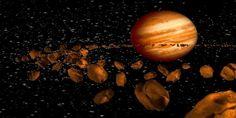 Ο ωκεανός του Άρη ήταν προϊόν βομβαρδισμού αστεροειδών