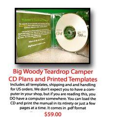 TEARDROP PLANS - Big Woody Teardrop Campers Teardrop Campers, Teardrop Trailer, Camping And Hiking, Woody, Trailers, How To Plan, Reading, Big, Word Reading