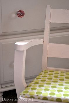 Design Stash: little rocking chair redo #furniture #DIY