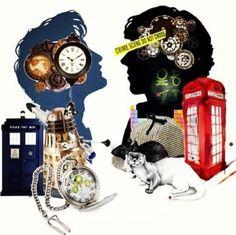 Sherlock meets Doctor Who