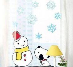 Wall Stickers for Kids Wall Stickers for Kids Stick Wall Decals Decoration Wall Sticker Decal - Snow Man and Dog by bigbvg, http://www.amazon.com/dp/B0088I59I4/ref=cm_sw_r_pi_dp_Uhg0pb1YMJJ96