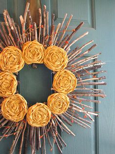 Easy DIY Fall Wreaths - Best Homemade Wreaths for Fall - Good Housekeeping