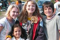On set of Bridge to Terabithia <3