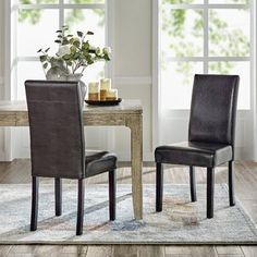 """Rosdorf Park Vestavia 26"""" Counter Stool   Wayfair Solid Wood Dining Chairs, Upholstered Dining Chairs, Dining Chair Set, Dining Room Chairs, Side Chairs, Wood Storage Bench, Chair And A Half, Parsons Chairs, Retro Home"""