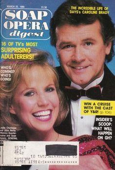 Soap Opera Digest 1986 March 25 Leslie Charleson Jon Hensley Richard Van Vleet | eBay